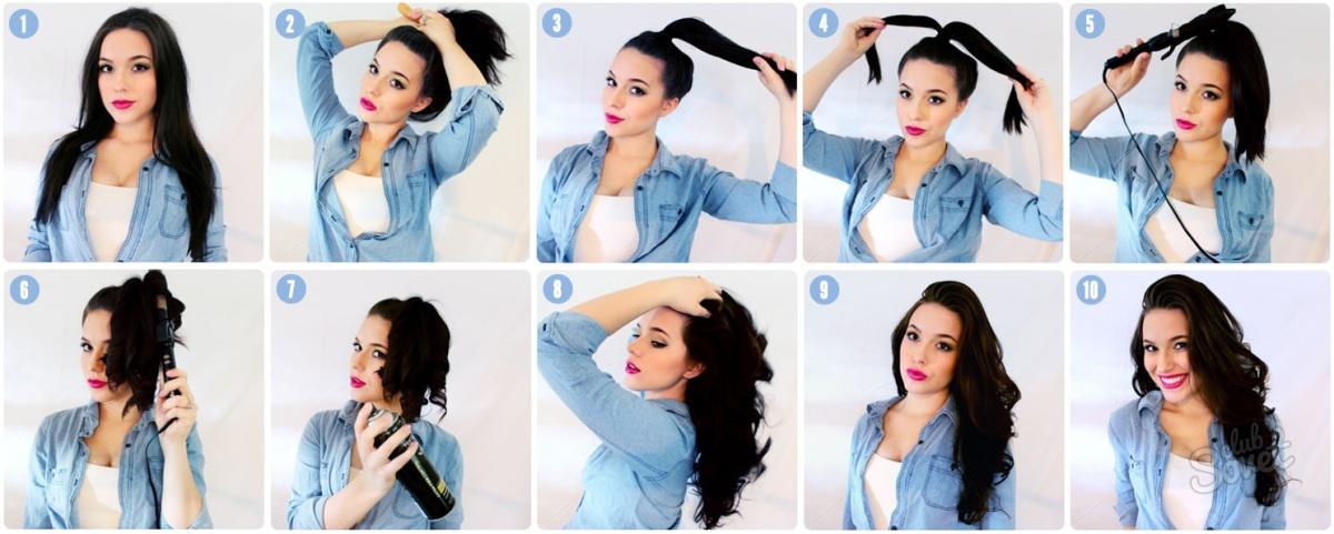 Как сделать волосы волнистыми при помощи пенки 918
